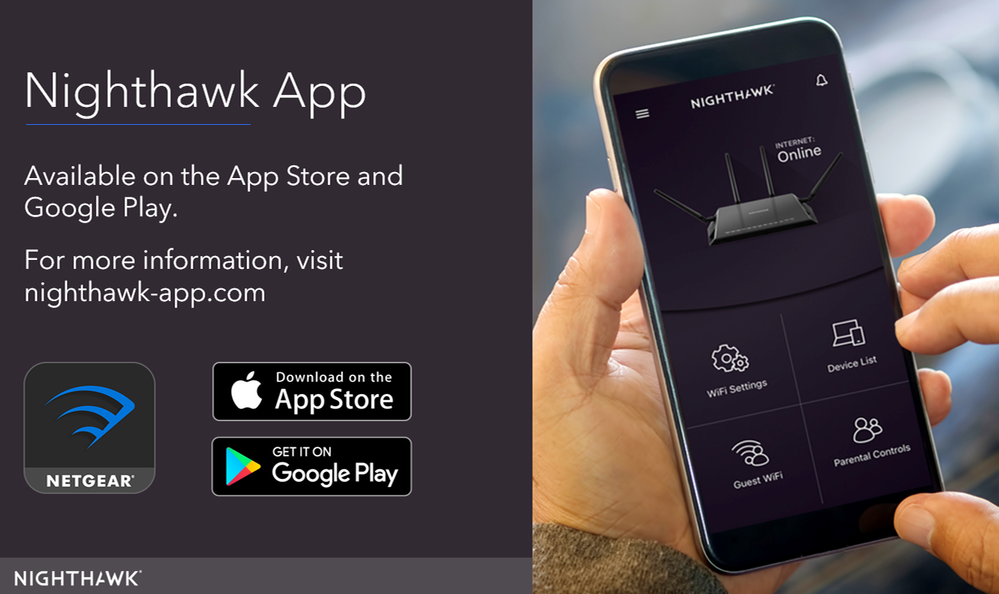 Download the Nighthawk App