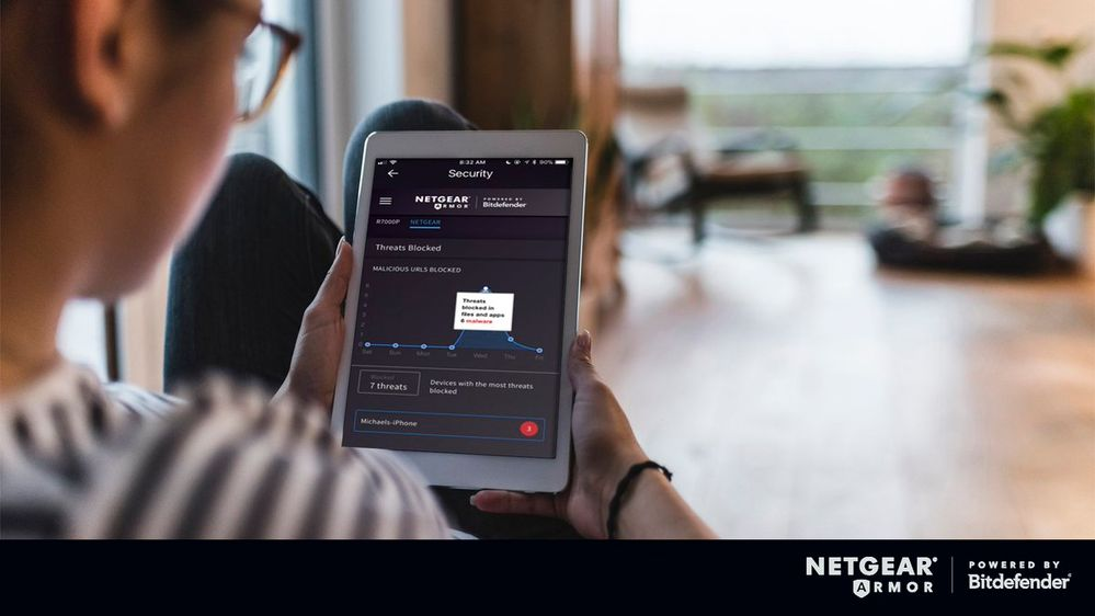 Netgear Armor through Nighthawk App