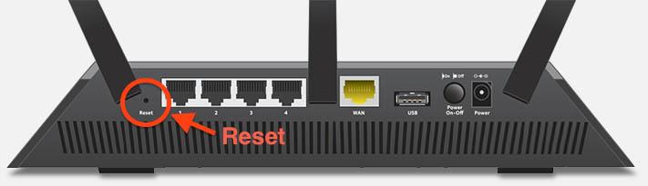 Netgear Nighthawk Router Reset