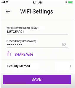 change username and password using the nighthawk app