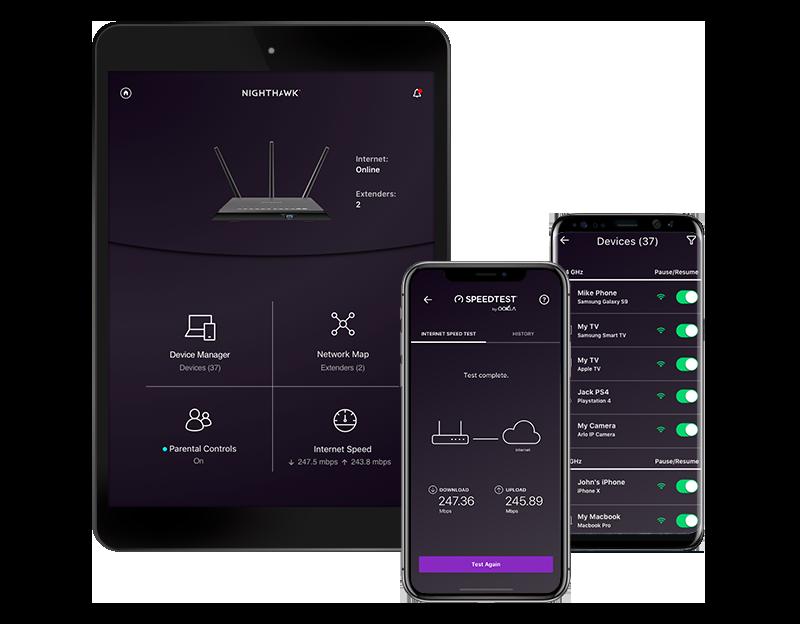 Nighthawk R9000 Setup using Nighthawk app