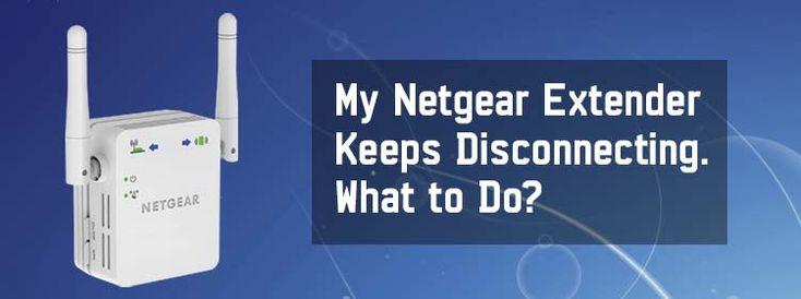 Netgear Extender keeps disconnecting